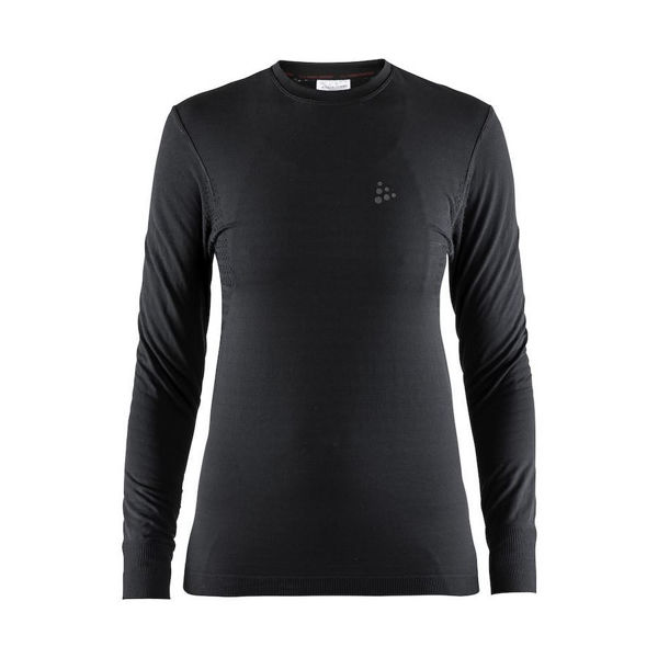 Picture of CRAFT CROSS COUNTRY SKI SWEATER WARM COMFORT LS BLACK FOR WOMEN