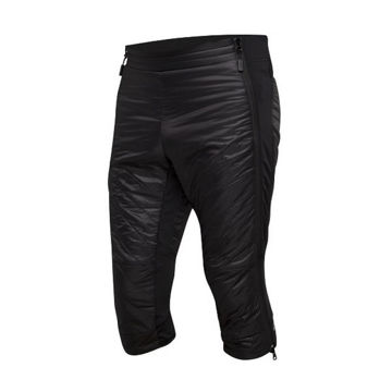 Picture of SWIX CROSS COUNTRY SKI PANT MENALI QUILTED CAPRI BLACK FOR WOMEN