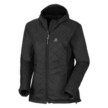 Picture of SALOMON CROSS COUNTRY SKI JACKET NOVA HOODIE W BLACK FOR WOMEN