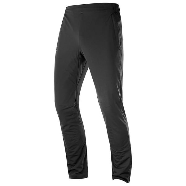 Picture of SALOMON CROSS COUNTRY SKI PANT AGILE WARM BLACK FOR MEN