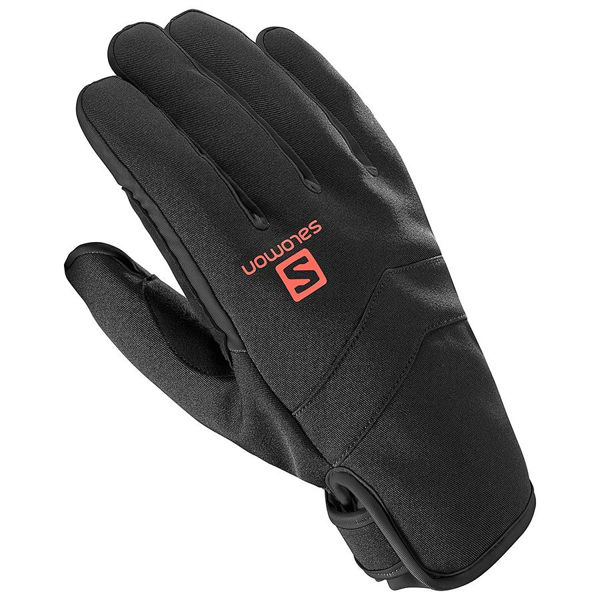 Picture of SALOMON GLOVES RS WARM BLACK/RED
