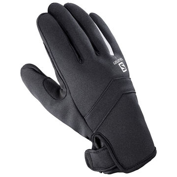 Image de GANTS SALOMON RS WARM NOIR/BLANC
