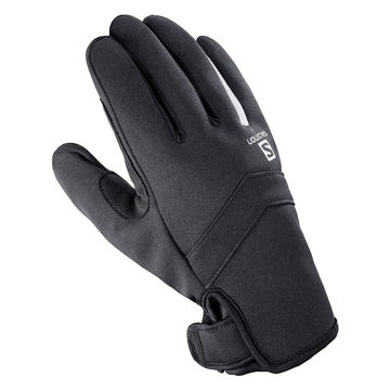 Picture of SALOMON GLOVES RS WARM BLACK/WHITE