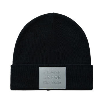 Image de TUQUE PEAK PERFORMANCE REFLECTHAT NOIR