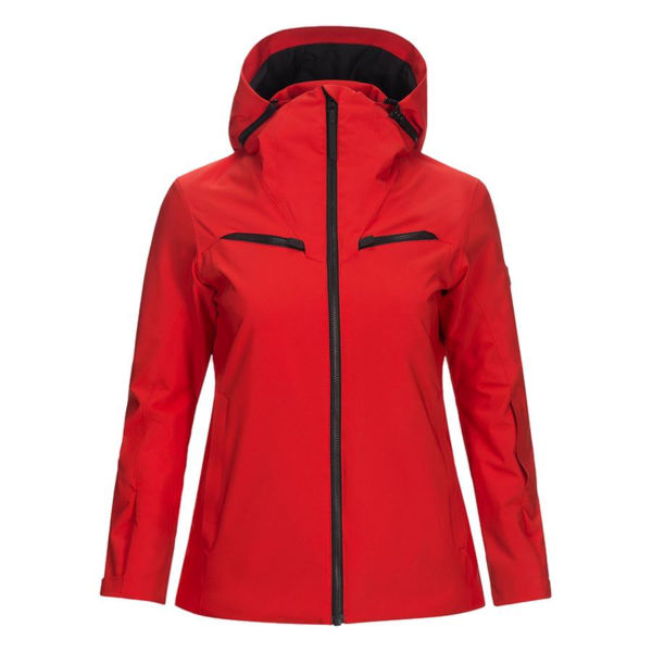 Picture of PEAK PERFORMANCE ALPINE SKI JACKETS LANZO RED FOR WOMEN
