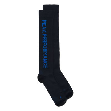 Picture of PEAK PERFORMANCE SOCKS WARM BLACK/BLUE