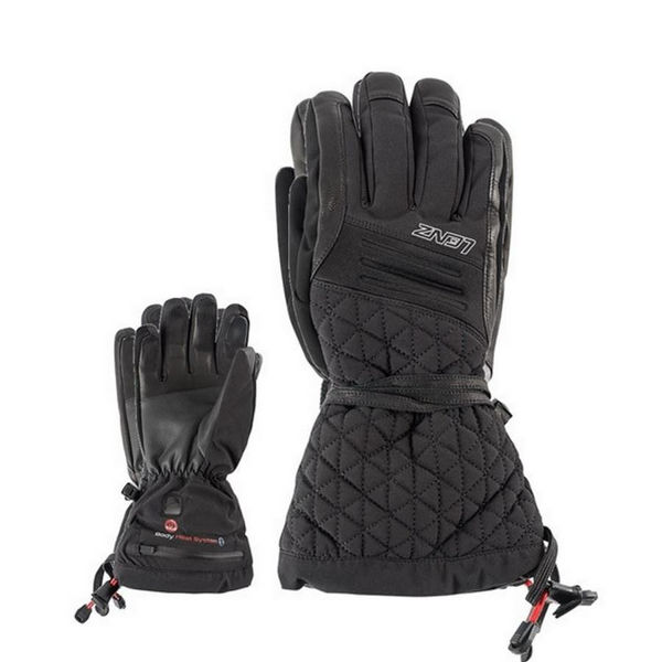 Picture of LENZ HEATED SKI GLOVES  4.0 BLACK FOR WOMEN