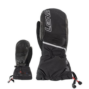 Picture of LENZ MITTENS HEAT 4.0 BLACK FOR UNISEX