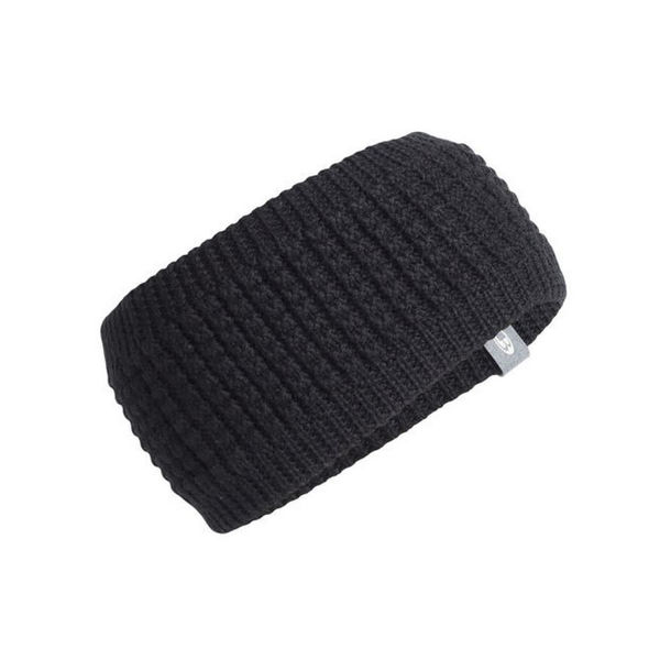 Picture of ICEBREAKER HAT AFFINITY HEADBAND BLACK