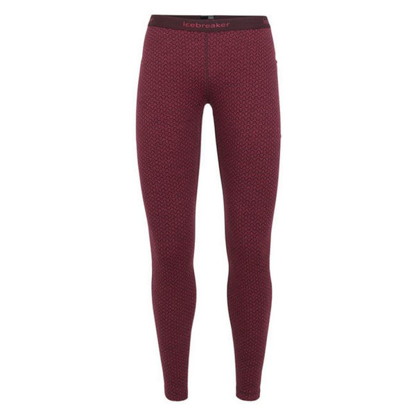 Picture of ICEBREAKER LEGGINGS 250 VERTEX MOUNTAIN DASH VELVET FOR WOMEN
