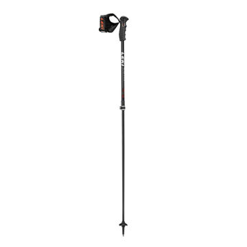 Picture of LEKI ALPINE SKI POLES PEAK VARIO S BLACK/ORANGE FOR WOMEN