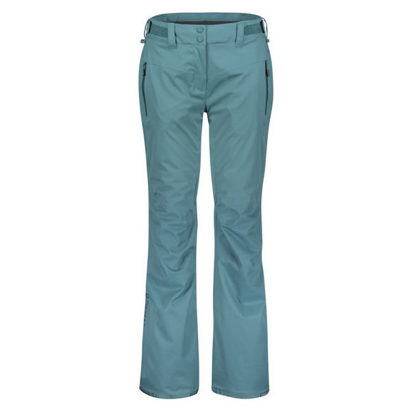 Picture of SCOTT ALPINE SKI PANTS ULTIMATE DRYO 10 DRAGONFLY GREEN FOR WOMEN