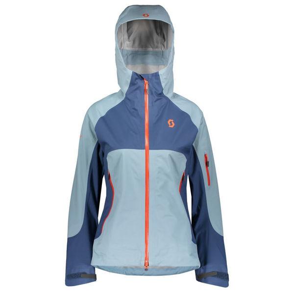 Picture of SCOTT ALPINE SKI JACKETS EXPLORAIR 3L BLUE FOR WOMEN