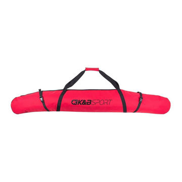 Picture of K&B ALPINE SKI BAG FULLY PADDED RED