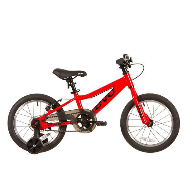 Picture of EVO BIKE FOR JUNIORS ROCK RIDGE 16 RED 2019 FOR JUNIORS