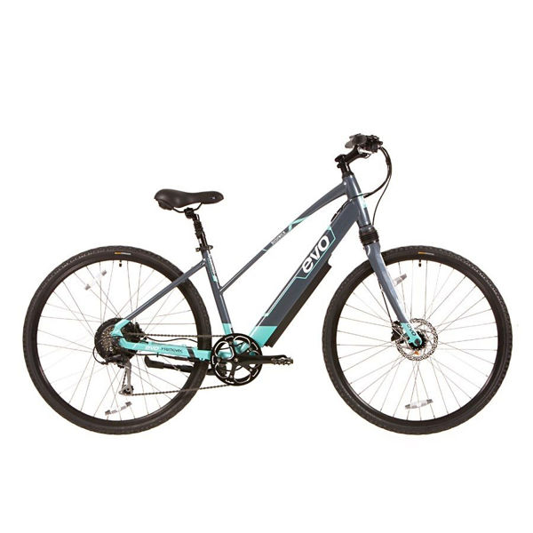 Picture of EVO ELECTRIC BIKE BUSHWICK GREY 2019 FOR WOMEN