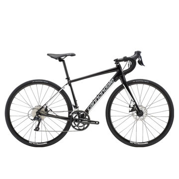 Picture of CANNONDALE ROAD BIKE SYNAPSE ALLOY DISC SORA BLACK/WHITE 2019 FOR WOMEN