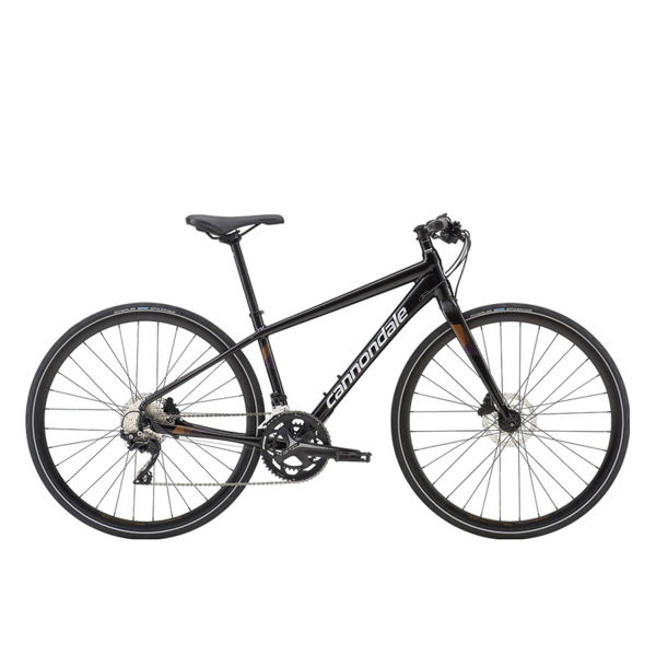 Picture of CANNONDALE HYBRID BIKE QUICK DISC 1 BLACK 2019 FOR WOMEN