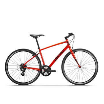 Picture of DEVINCI HYBRID BIKE MILANO RED/BLACK 2019
