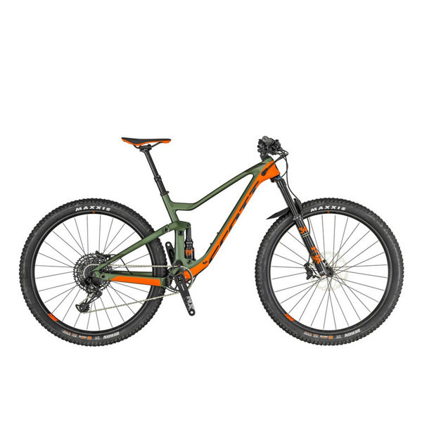 Picture of SCOTT MOUNTAIN BIKE GENIUS 730 GREEN/ORANGE 2019