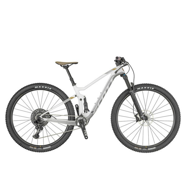 Picture of SCOTT MOUNTAIN BIKE CONTESSA SPARK 910 WHITE/GREY/GOLD 2019 FOR WOMEN