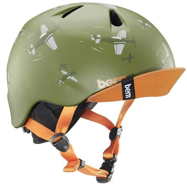 Picture of BERN BIKE HELMET NINO GREEN FOR JUNIORS