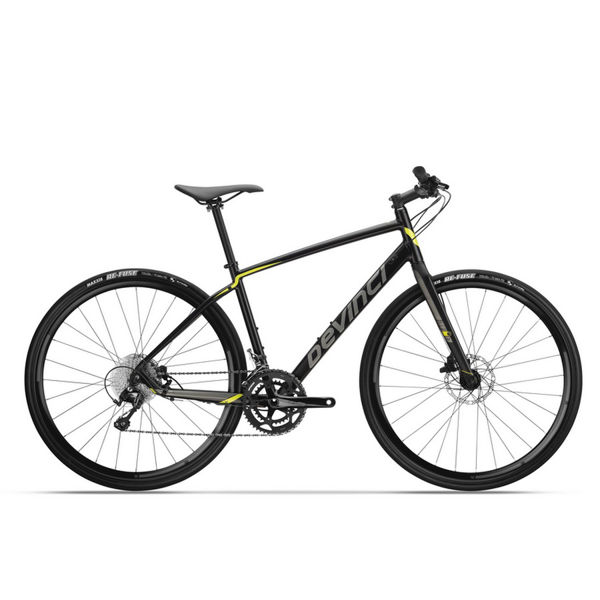 Picture of DEVINCI HYBRID BIKE HEX TIAGRA BLACK/GREY 2019