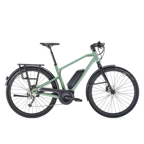 Picture of MOUSTACHE ELECTRIC BIKE FRIDAY 28.1 GREEN 2019
