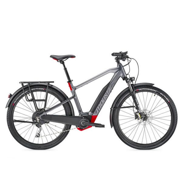 Picture of MOUSTACHE ELECTRIC BIKE SAMEDI 27 X-ROAD 3 GRIS/ROUGE 2019