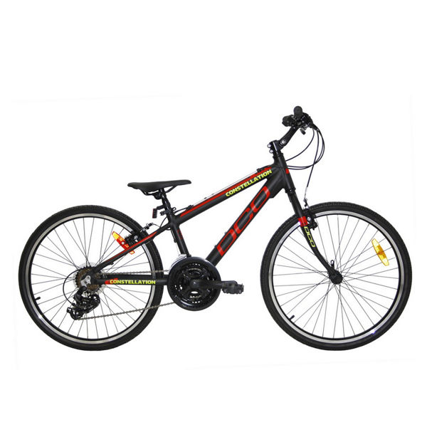 Picture of DCO BIKE CONSTELLATION 24 BLACK/RED/YELLOW 2019 FOR JUNIORS