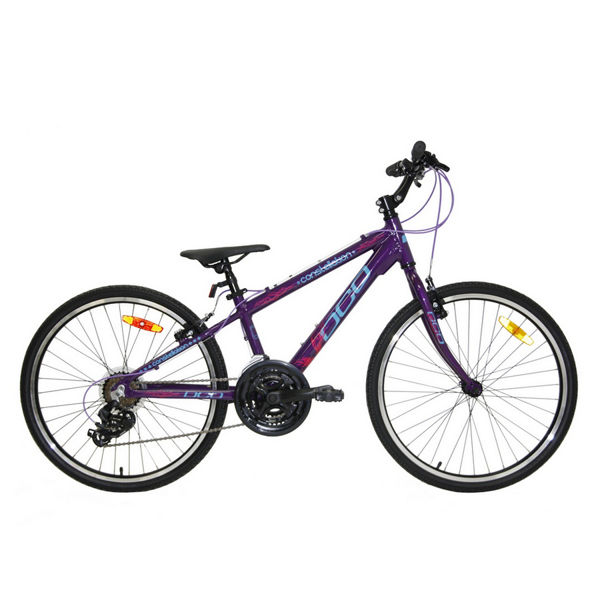 Picture of DCO BIKE CONSTELLATION 24 PURPLE/BLUE/PINK 2019 FOR JUNIORS