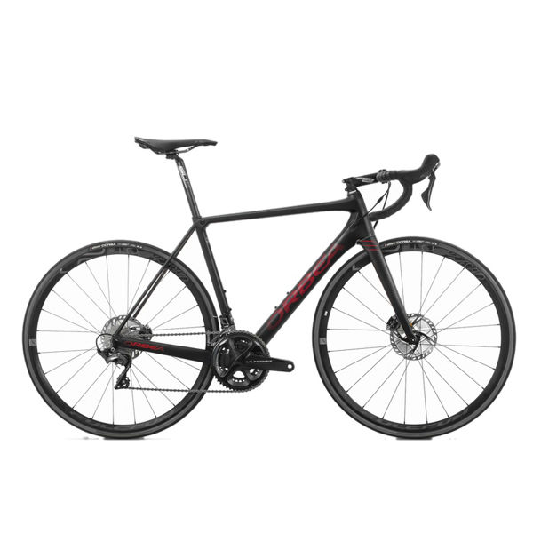 Picture of ORBEA ROAD BIKE ORCA M20 TEAM DISC BLACK/RED 2019