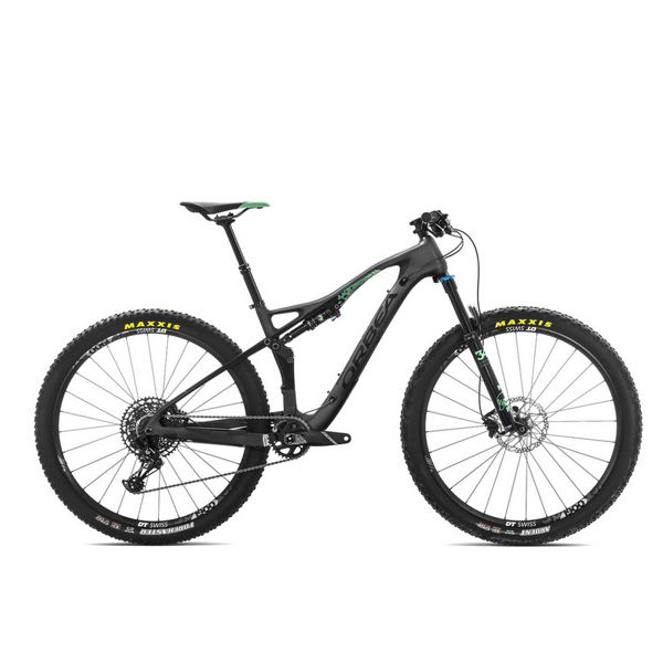 Picture of ORBEA MOUNTAIN BIKE OCCAM TR M30 BLACK/MINT 2019