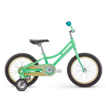 "Picture of RALEIGH BIKE JAZZI 16"" GREEN 2019 FOR JUNIORS"