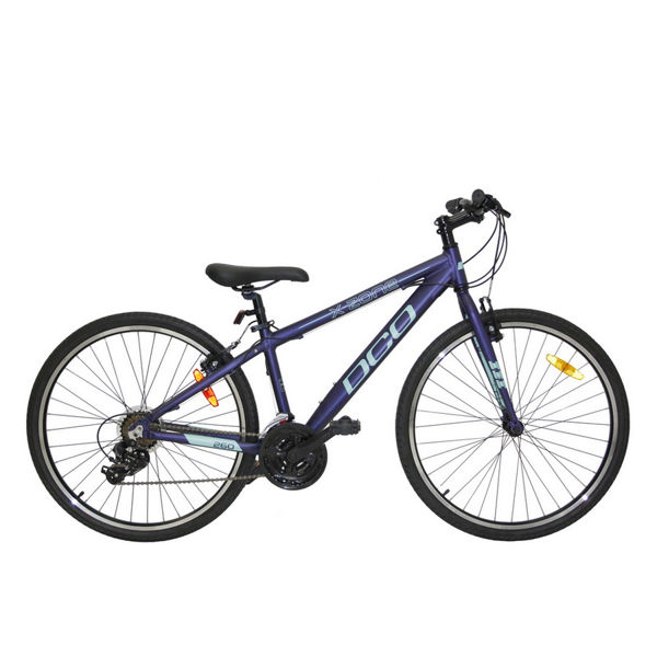 Picture of DCO HYBRID BIKE X ZONE 260 BLUE/TEAL 2019 FOR JUNIORS