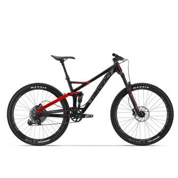 Picture of DEVINCI MOUNTAIN BIKE DJANGO 27.5 GX BLACK/RED 2018