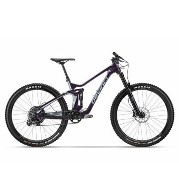 Picture of DEVINCI MOUNTAIN BIKE TROY CARBON 27 NX EAGLE PURPLE/TEAL 2019