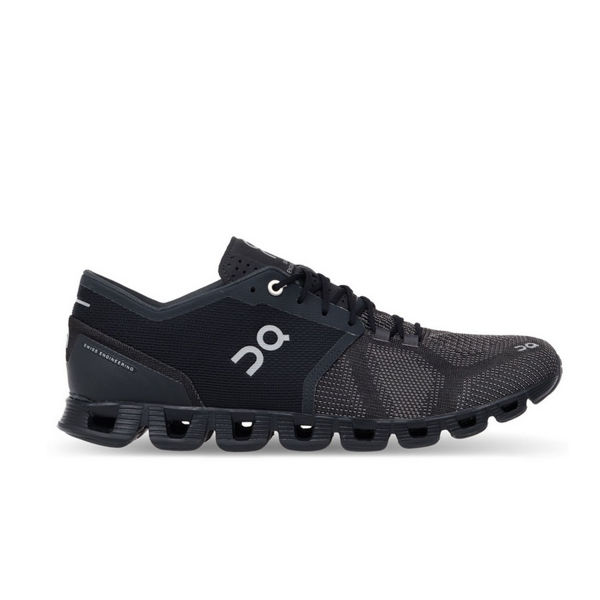 Picture of ON ROAD RUNNING SHOES CLOUD X BLACK ASPHALT FOR MEN