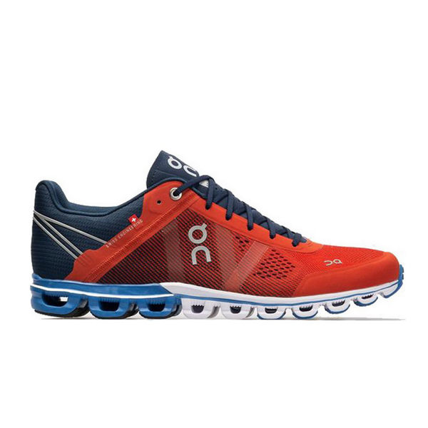 Picture of ON ROAD RUNNING SHOES CLOUDFLOW RUST/PACIFIC FOR MEN