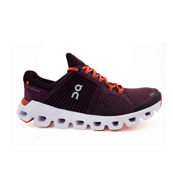 Picture of ON ROAD RUNNING SHOES CLOUDSWIFT PLUM/DAWN FOR WOMEN