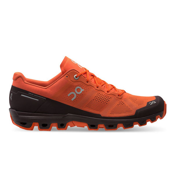 Picture of ON ROAD RUNNING SHOES CLOUDVENTURE FLARE/DAWN FOR MEN