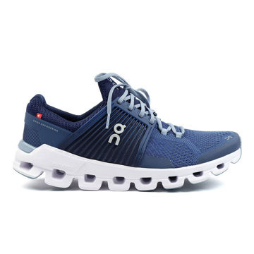 Image de SOULIERS DE COURSE SUR ROUTE ON CLOUDSWIFT DENIM/MIDNIGHT POUR HOMME