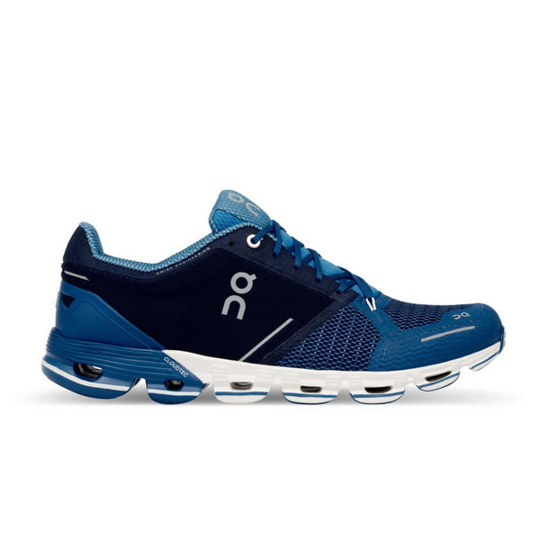 Picture of ON ROAD RUNNING SHOES CLOUDFLYER BLUE/WHITE FOR MEN