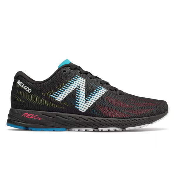 Picture of NEW BALANCE ROAD RUNNING SHOES 1400V6 BLACK/PINK FOR WOMEN