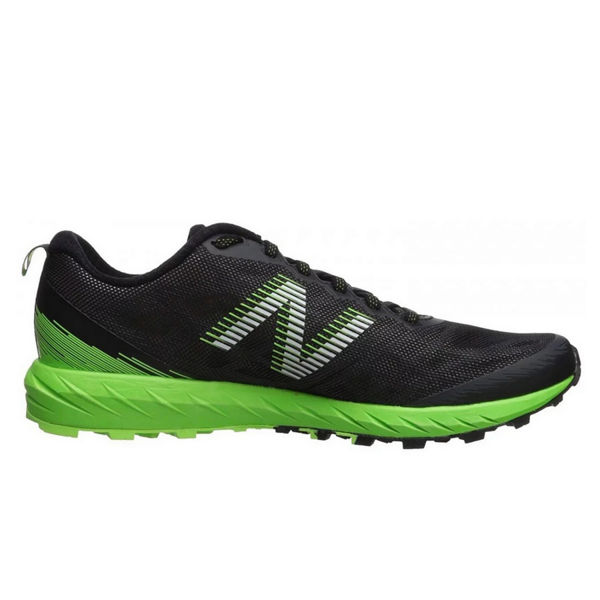 Picture of NEW BALANCE TRAIL RUNNING SHOES SUMMIT UNKNOWN BLACK/GREEN FOR MEN
