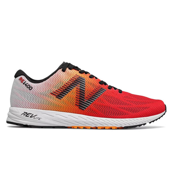 Picture of NEW BALANCE ROAD RUNNING SHOES 1400 ORANGE/WHITE FOR MEN