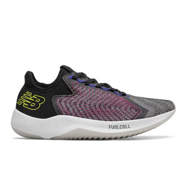 Picture of NEW BALANCE ROAD RUNNING SHOES FUELCELL REBEL BLACK FOR WOMEN
