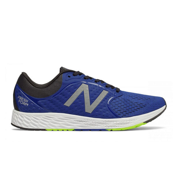 Picture of NEW BALANCE ROAD RUNNING SHOES FRESH FOAM ZANTE V4 BLUE FOR MEN