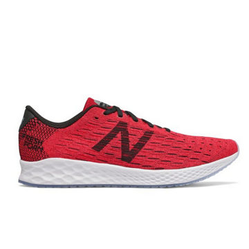 Picture of NEW BALANCE ROAD RUNNING SHOES FRESH FOAM ZANTE PURSUIT RED FOR MEN