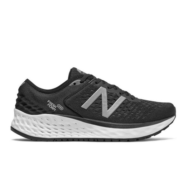 Picture of NEW BALANCE ROAD RUNNING SHOES FRESH FOAM 1080V9 BLACK FOR MEN